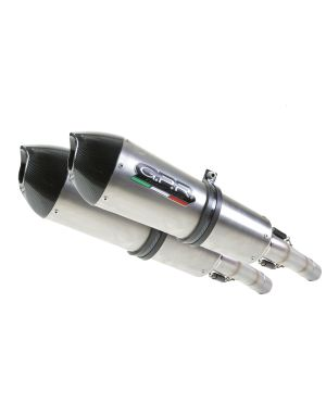 YAMAHA XJR 1300 1999/06 DUAL HOMOLOGATED SLIP-ON EXHAUST SYSTEM   BY GPR EXHAUST SYSTEMS GPE EVO TITANIUM LINE