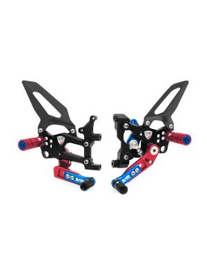 Adjustable rear sets RPS Ducati SBK Panigale series LIMITED EDITION