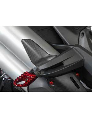 Heel guard - matt carbon Ducati Monster 1200 // S