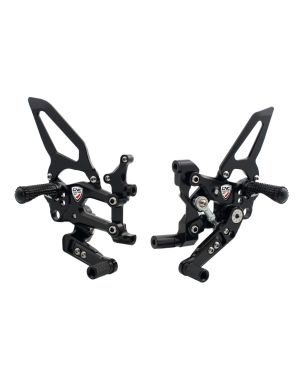 "Adjustable rear sets RPS ""Easy"" Ducati SBK Panigale series road and reverse shifting"