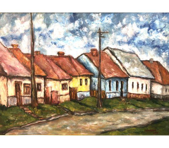 Stará ulička Medzev