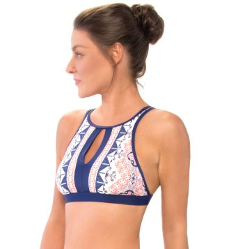 620eb78fe1f9a Skye Swimwear Temara Mercedes High Neck Bikini Top at European Outdoors