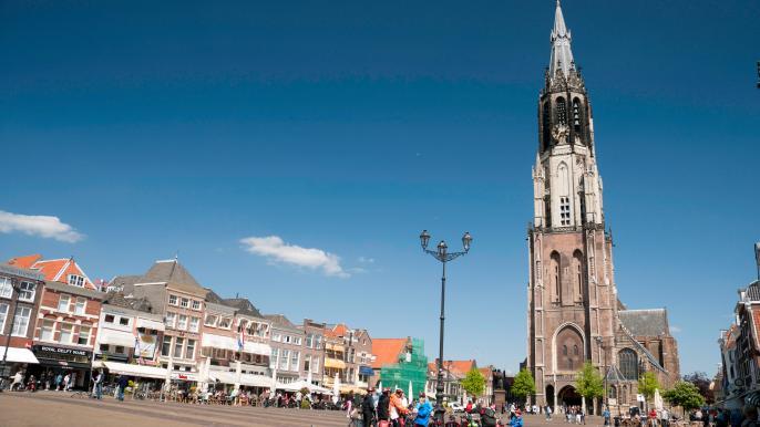 Delft kerktoren