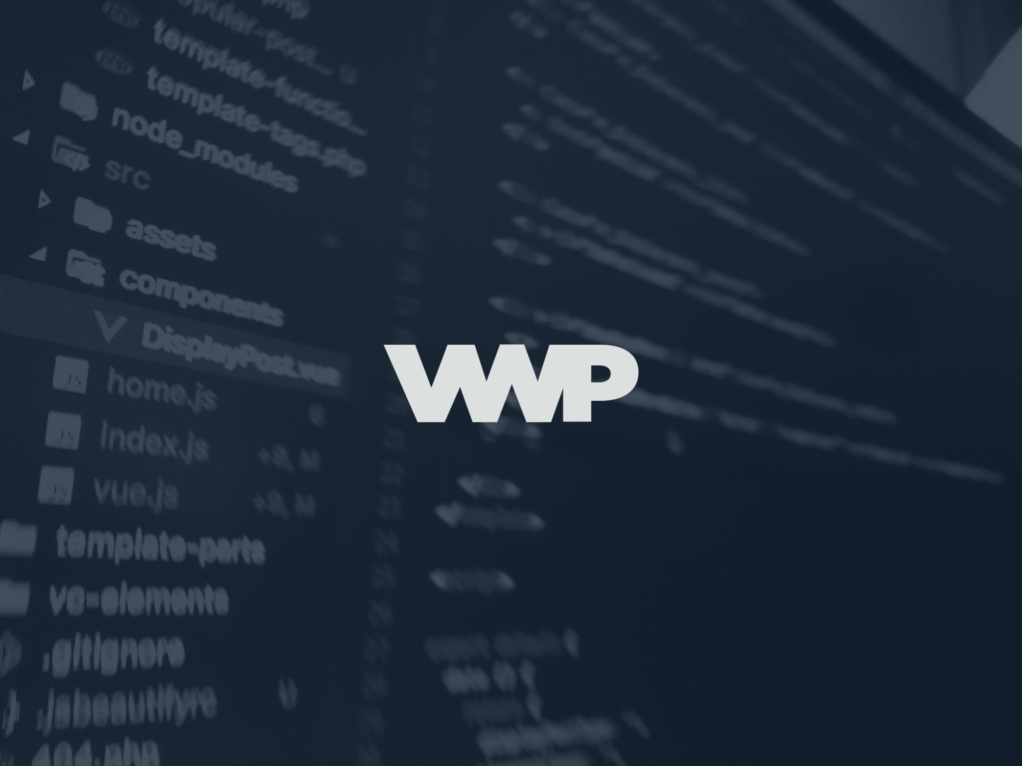 VueWordPress Logo