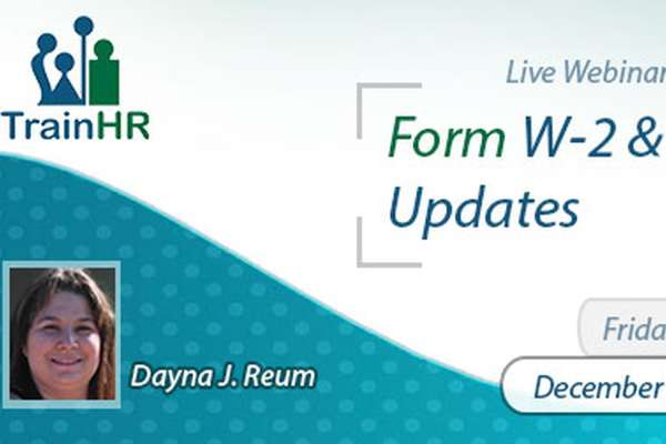 Form W-2 and 2019 Updates