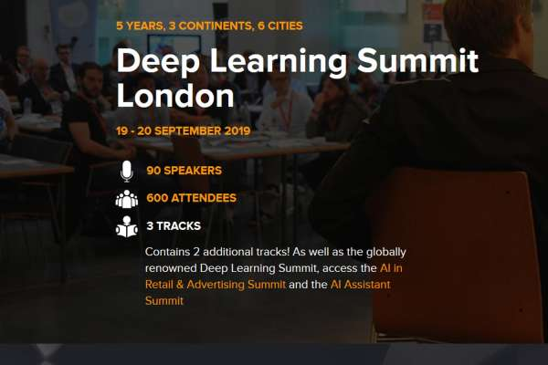 Deep Learning Summit London 2019