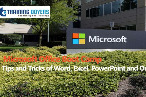 Webinar on Microsoft Office Boot Camp - Tips and Tricks of Word, Excel, PowerPoint and Outlook - 3 Hour Boot Camp – Training Doyens