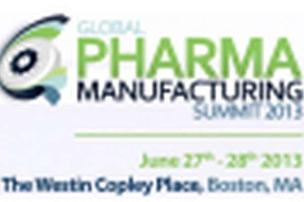 8th Annual Global Pharma Manufacturing Summit 2013