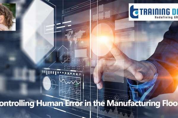 Webinar on Human Error Prevention Training