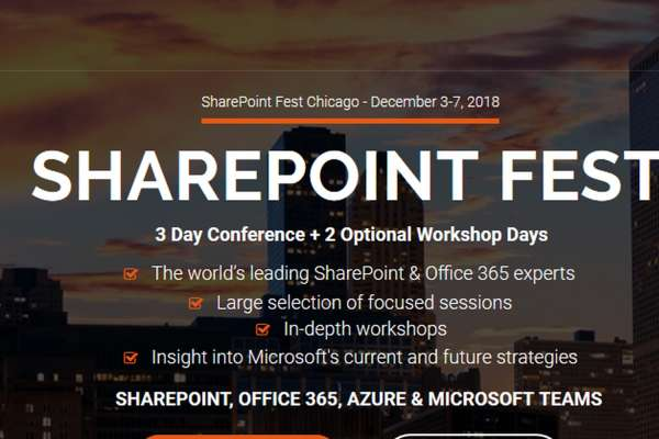 SharePoint Fest Chicago 2018