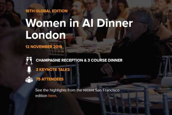 Women in AI Dinner London 2019