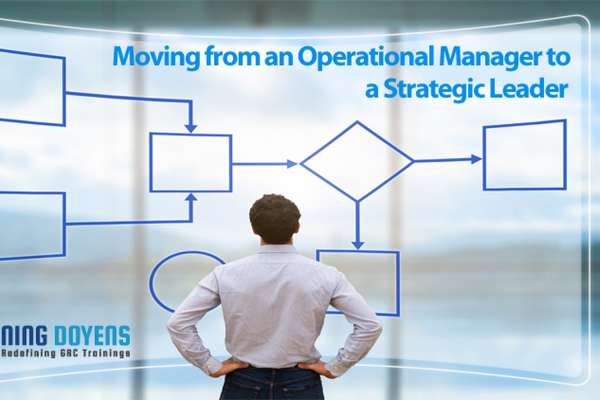 Live Webinar on Moving from an Operational Manager to a Strategic Leader