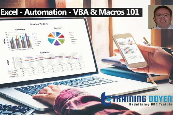 Online Webinar on Excel - Automation - VBA & Macros 101 – Training Doyens