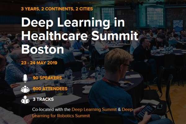 Deep Learning in Healthcare Summit Boston 2019