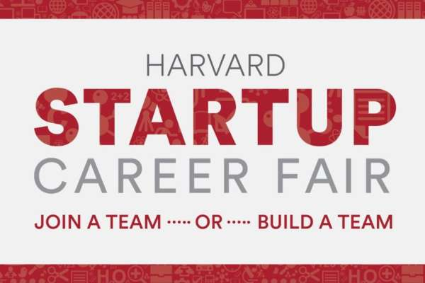 Harvard Startup Career Fair 2019