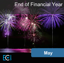 May End of Financial Year