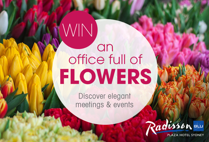 WIN an office full of flowers