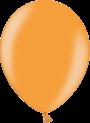 Helium Ballon 30cm metallic oranje