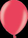 Helium Ballon 30cm metallic rood