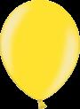 Helium Ballon 30cm metallic geel