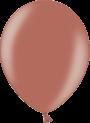 Helium Ballon 30cm metallic koper