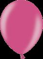 Helium Ballon 30cm metallic fuchsia