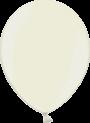Helium Ballon 30cm metallic ivoor