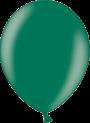 Helium Ballon 30cm metallic donkergroen