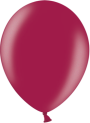 Helium Ballon 30cm metallic burgundy