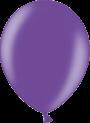 Helium Ballon 30cm metallic paars