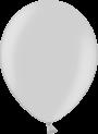 Helium Ballon 30cm metallic zilver