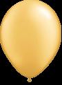 Helium Ballon 23cm metallic goud