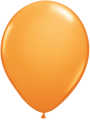 Helium Ballon 23cm oranje