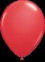 Helium Ballon 23cm rood