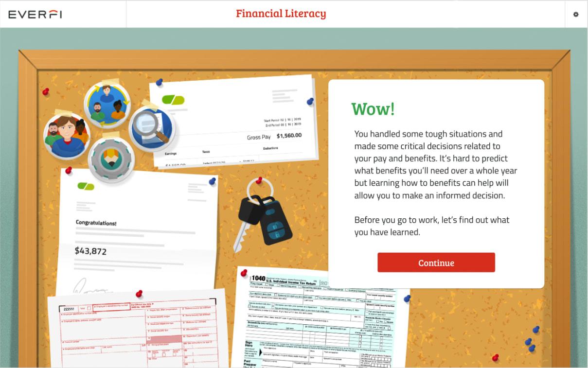 High School Financial Literacy | EVERFI | Lesson 2