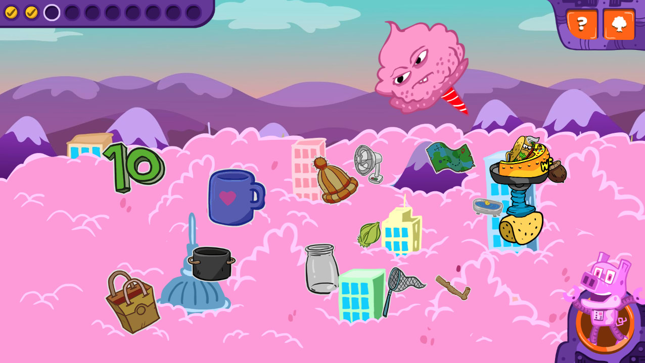 WORD Force: Cotton Candy Breakdown Game