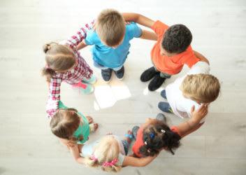 Children in a Circle   EVERFI