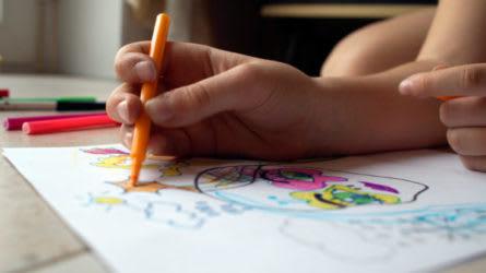 Child Coloring   Compassionate Classroom Culture   EVERFI