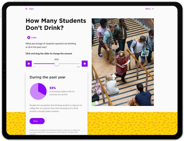 How many students don't drink