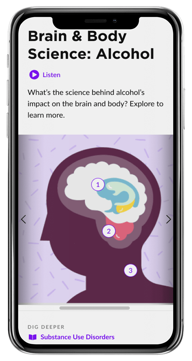 brain and body affects of alcohol screenshot