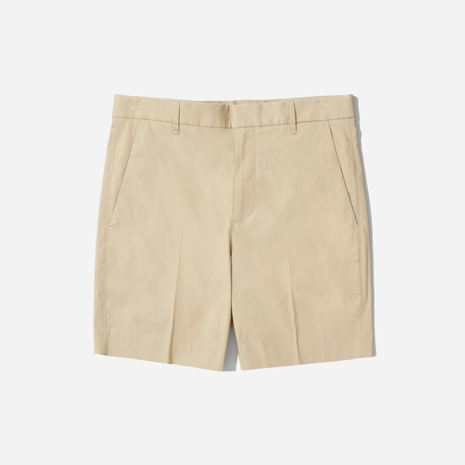 """men's air chino 7"""" short by everlane in khaki, size 36"""