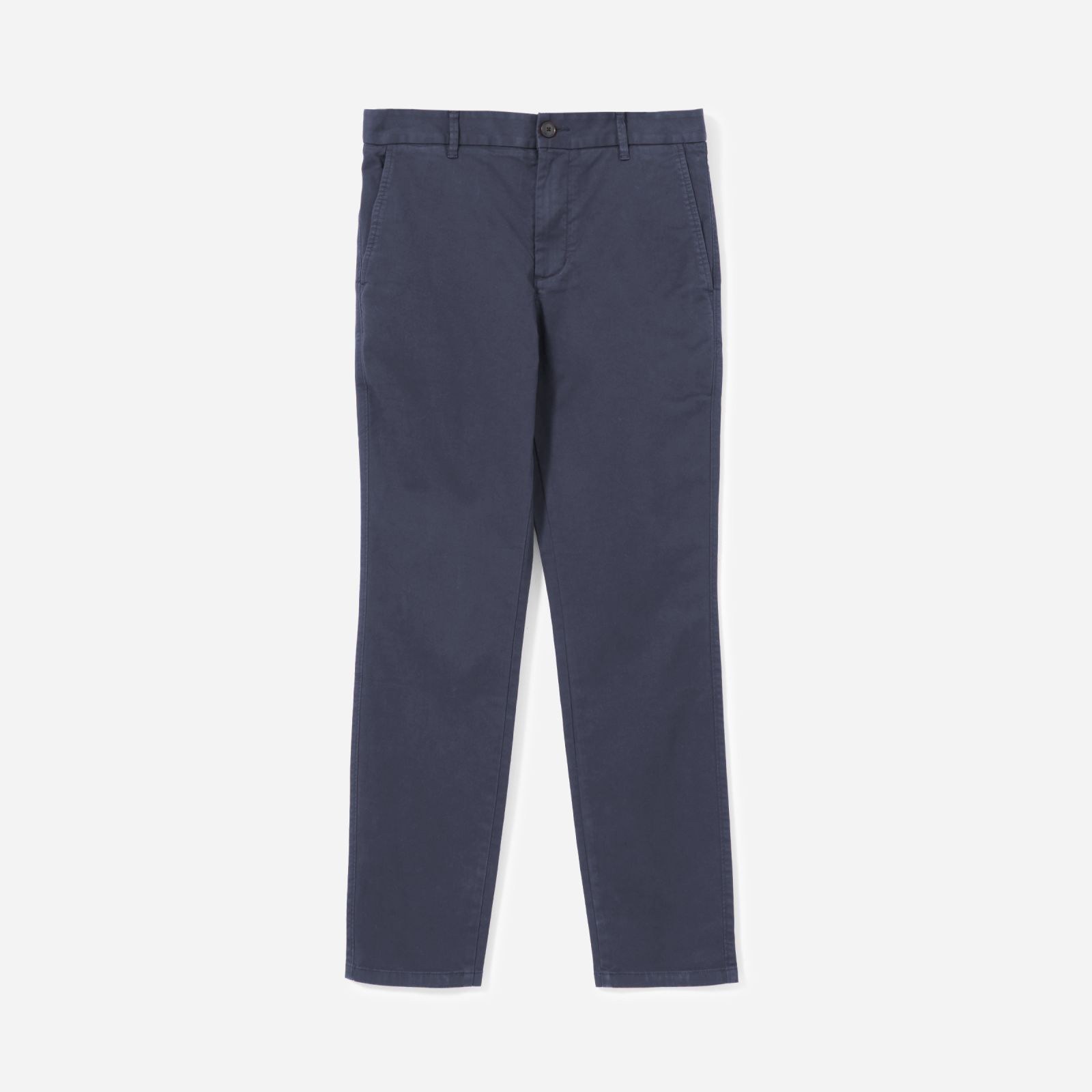 men's heavyweight athletic chino by everlane in navy, size 38x32
