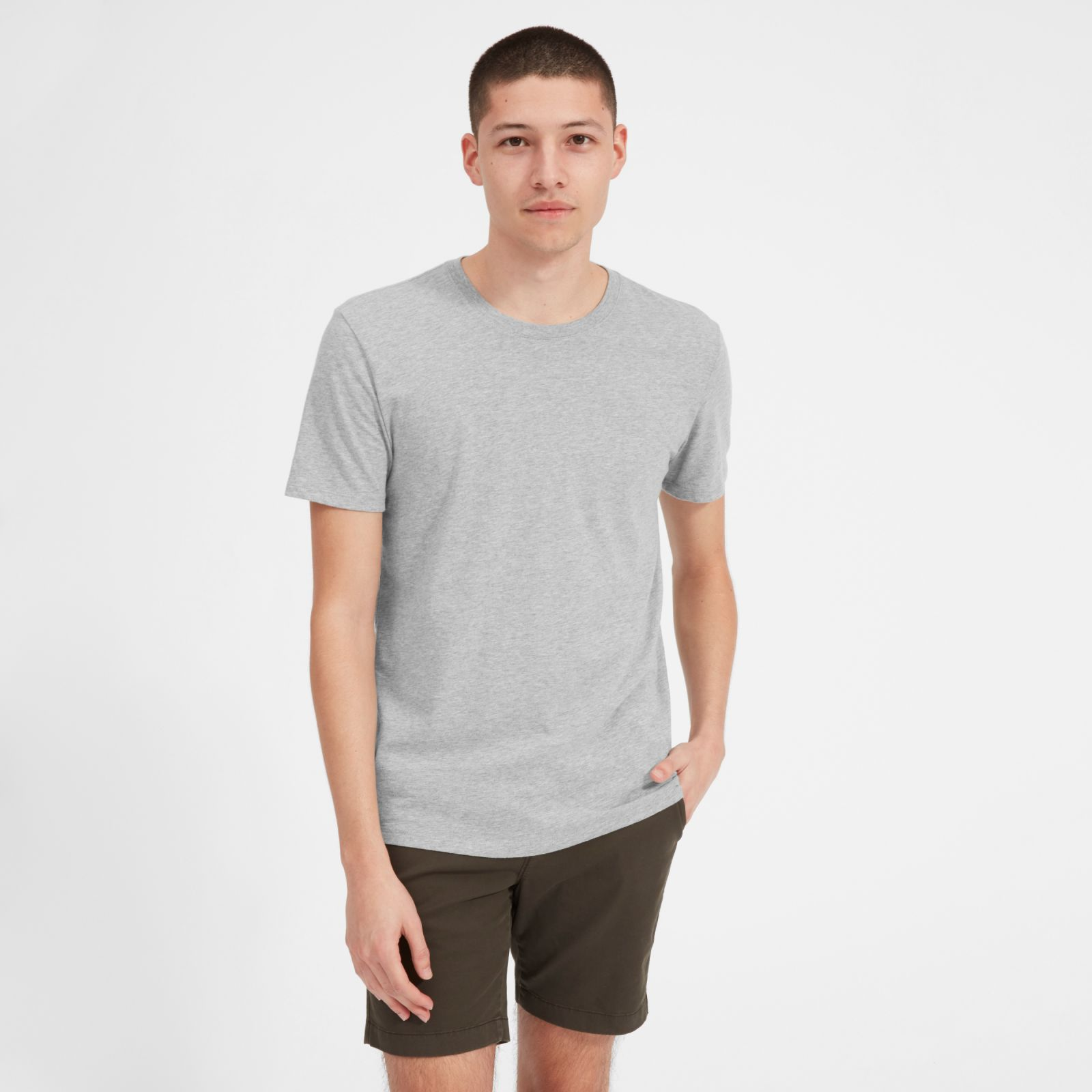 Men's Cotton Crew T-Shirt | Uniform