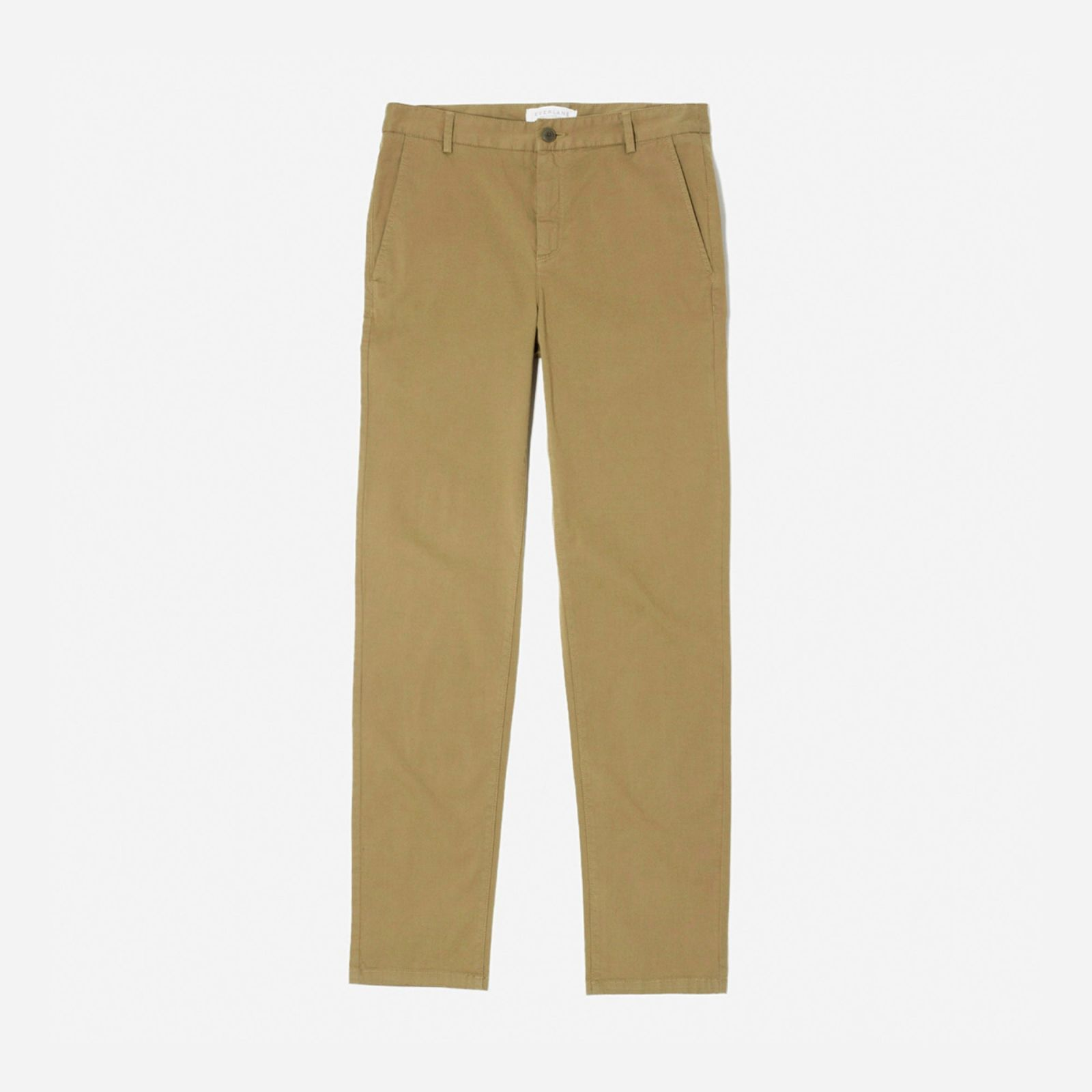men's midweight slim chino by everlane in ochre, size 34x32