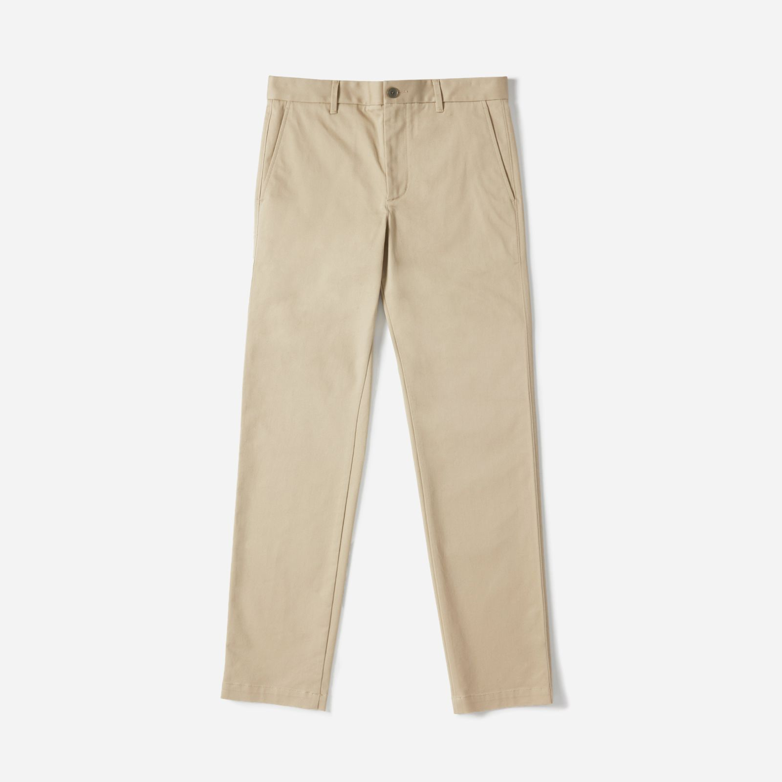 men's heavyweight athletic chino by everlane in khaki, size 38x32