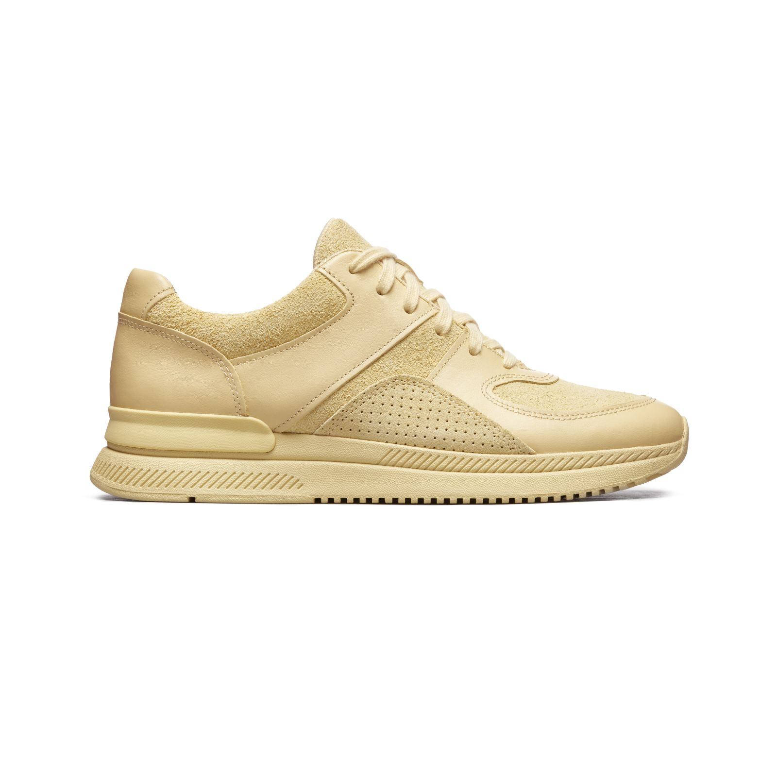 women's trainer by everlane in butter, size w15m13
