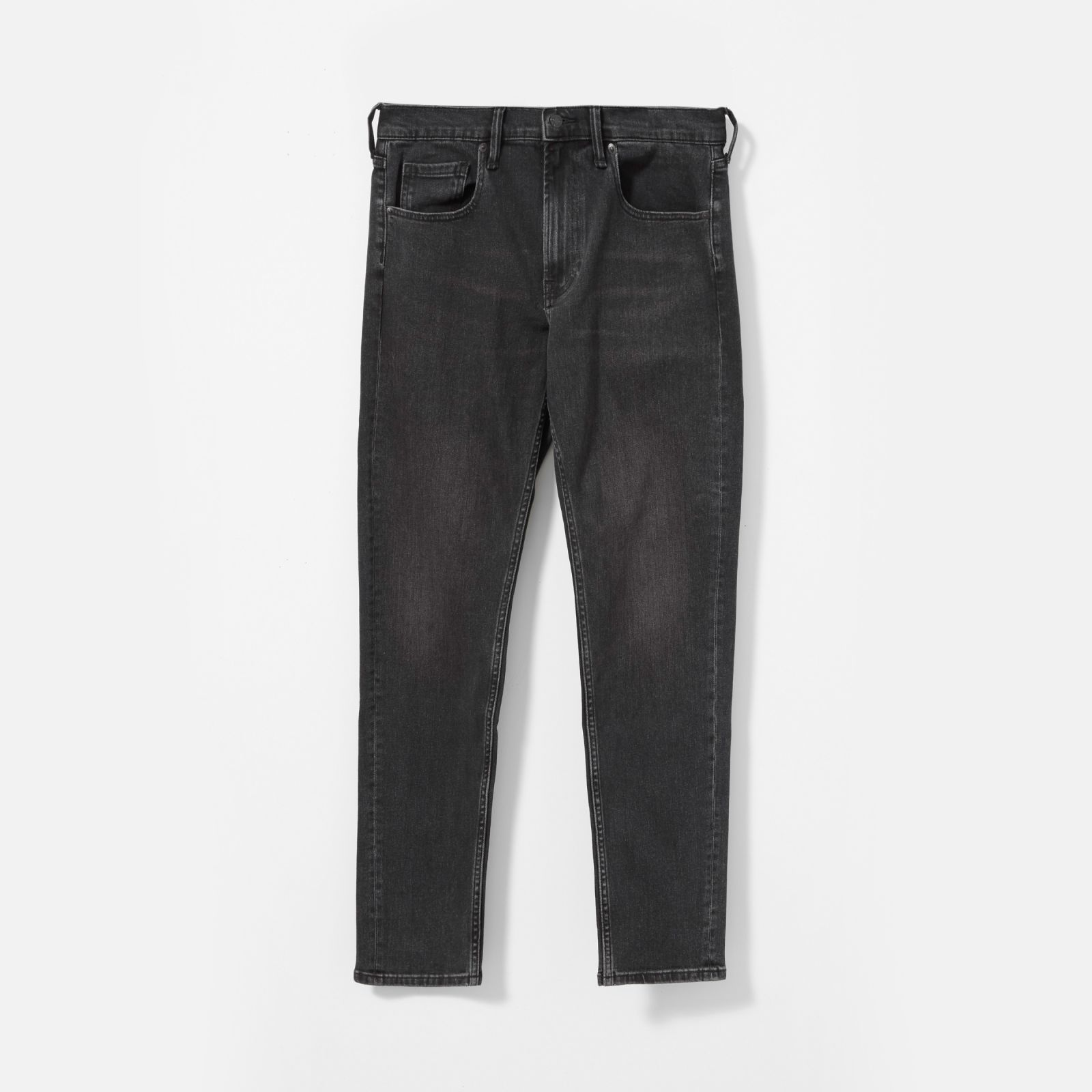 men's athletic fit jean by everlane in washed black, size 38x34