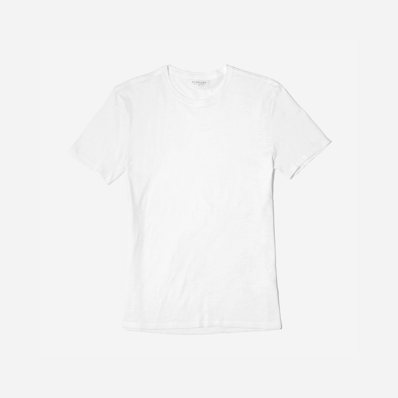 men's air crew t-shirt by everlane in white, size xl