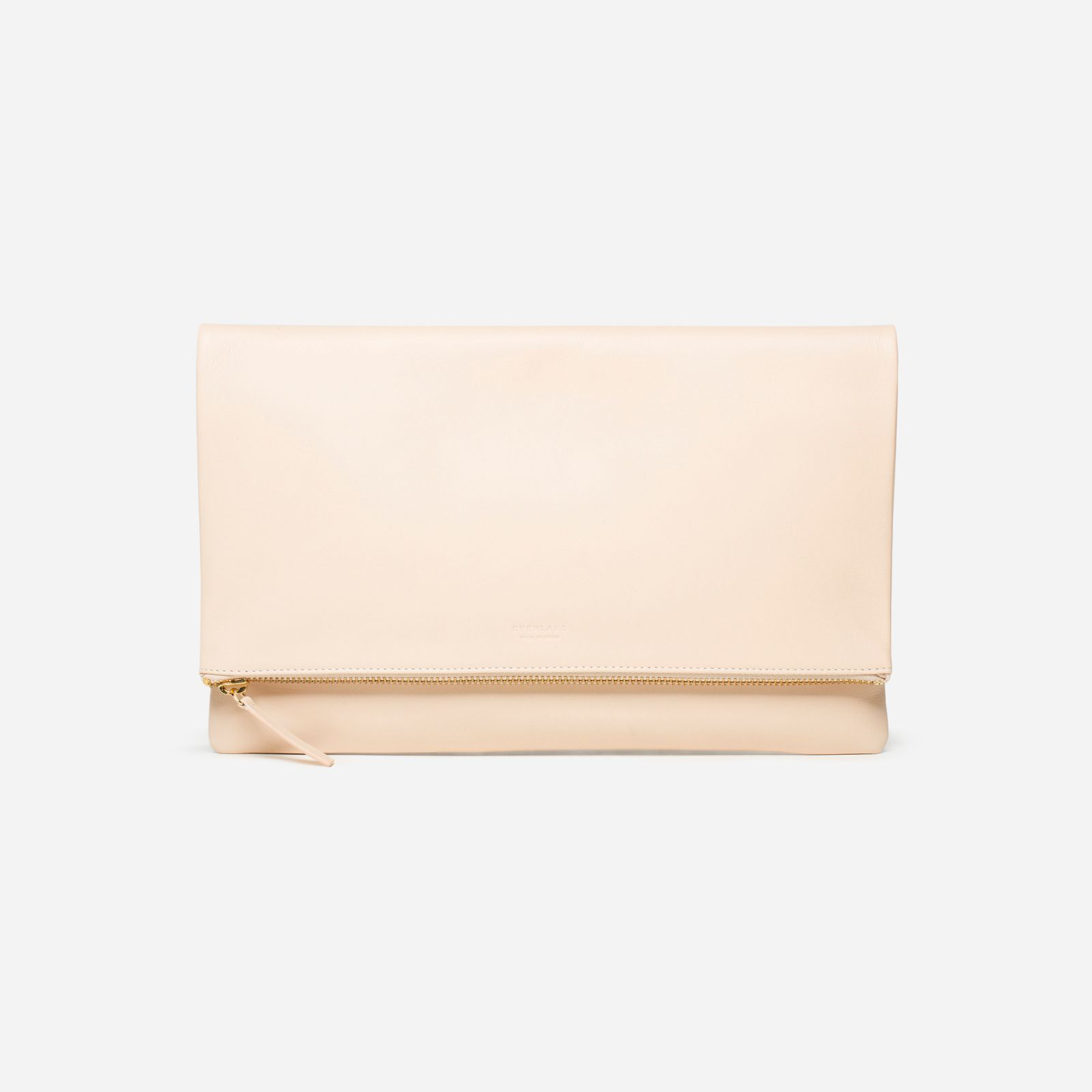 women's foldover pouch by everlane in natural