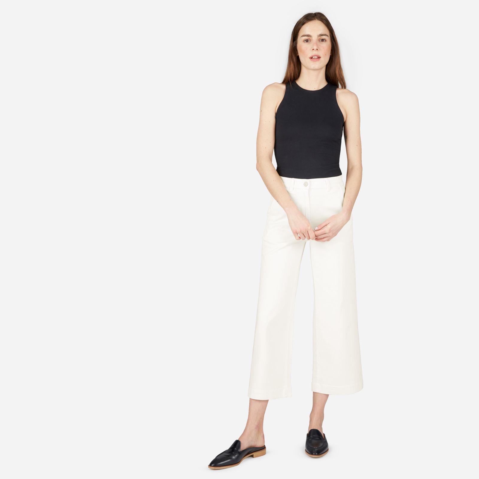 Women's Wide Leg Crop Pant